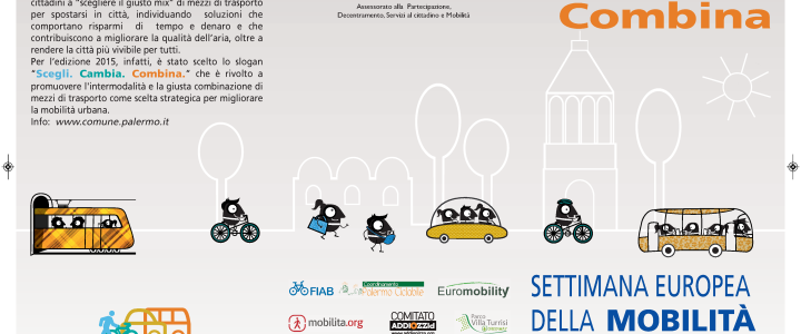 Settimana Europea della Mobilità Sostenibile-Palermo