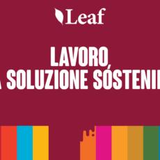 Lavoro, una soluzione sostenibile – Obiettivo 8