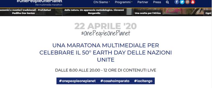 50° Giornata Mondiale della Terra – 22 aprile